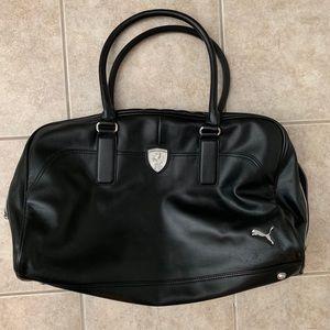 Puma Ferrari fake leather duffle bag